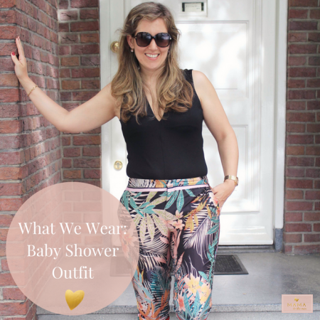 What We Wear Baby shower outfit Zara