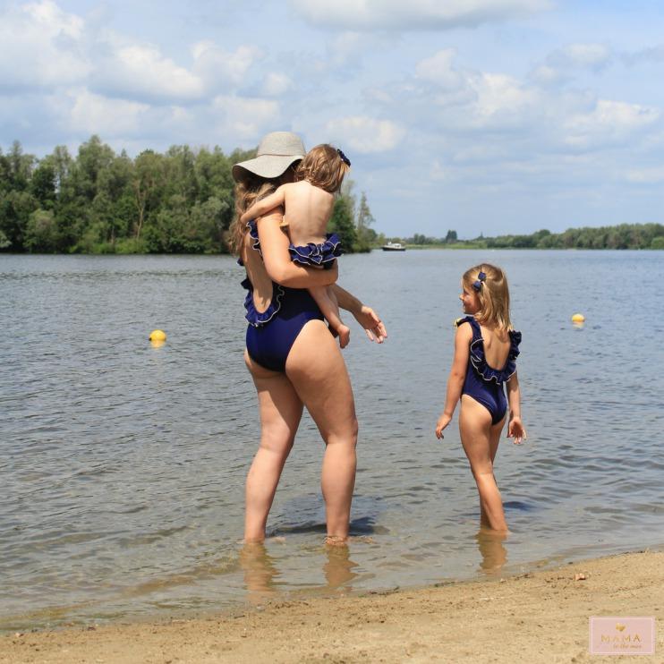 Matching badpakken Little Mack zwemmen strand