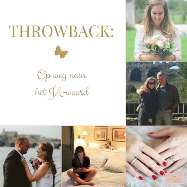 Throwback jawoord trouwen bruiloft Zuid-Frankrijk