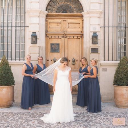 Bruiloft JP en Marjon, bruidsdames, bruidsjurkjes, avondjurk, JJ's House