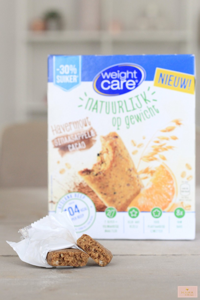 weightcare raw bar sinaasappel cacao mama to the max