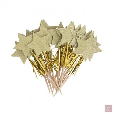 gouden sateprikkers cadeau hema shoplog