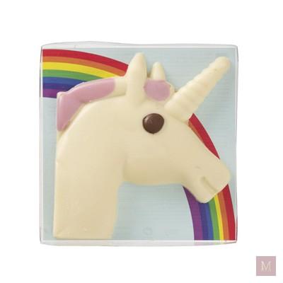 schoencadeautje unicorn chocolade hema