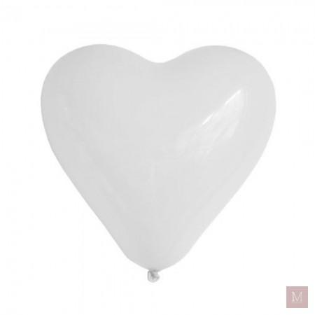 witte hartjesballonnen plein.nl