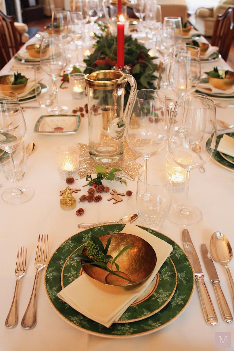 aankleding tafel kerstdiner mamatothemax
