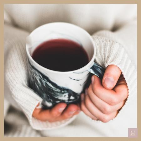 niet ziek worden, thee