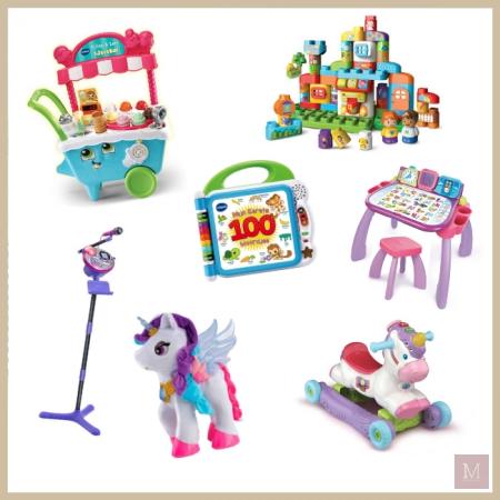 7x VTech speelgoed
