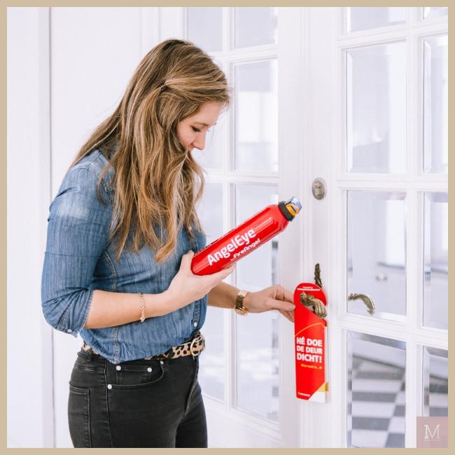 Brandwondenstichting, brandblusser, eerste hulp thuis