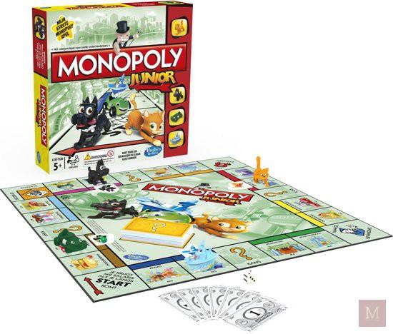 monopoly junior gezelschapsspel