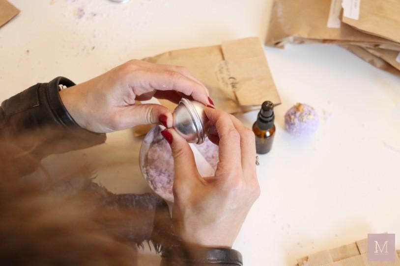 zelf bruisballen maken met etherische olie