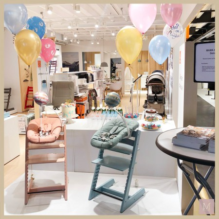 originele gender reveal party geslachtonthulling met stokke mamatothemax2