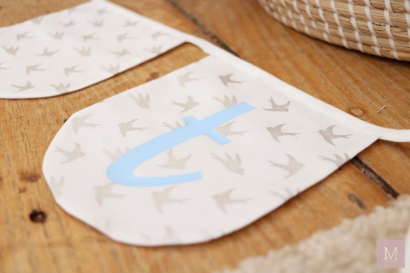 vlaggetjes lijn met naam originele kraammand kraamcadeau voor kraamvisite mamatothemax