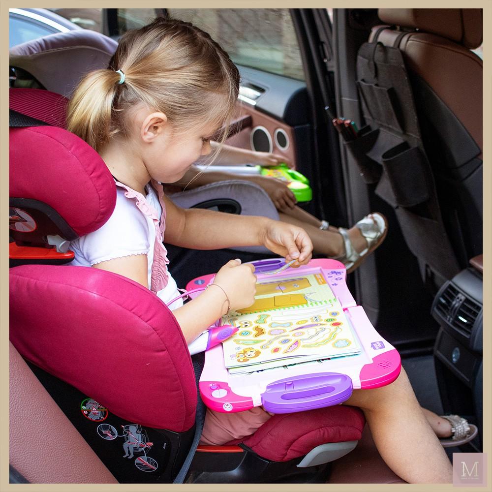 tips autoreis met kinderen vakantie magibook vtech speelgoed mamatothemax v5