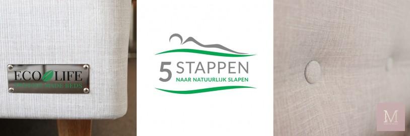 5 stappenplan, mama to the max, boxspring Ruwette, Ecolife, Natuurlijke producten,