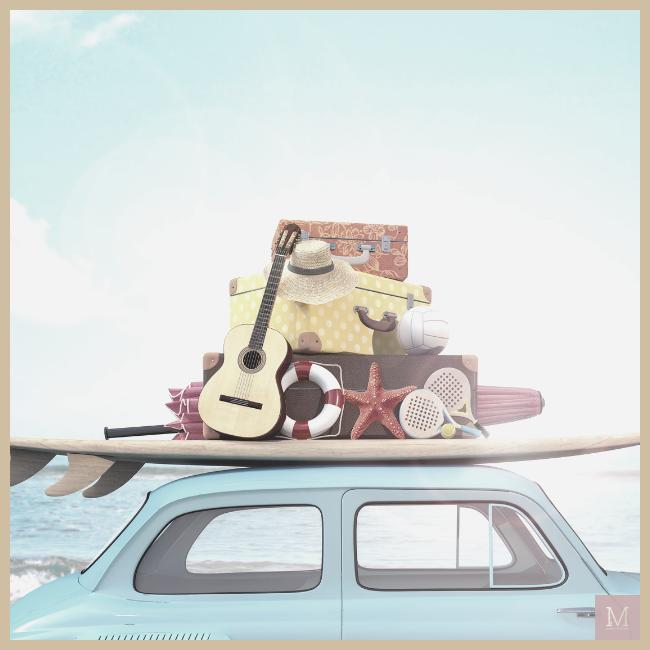 zomervakantie, autoverzekering, autovakantie
