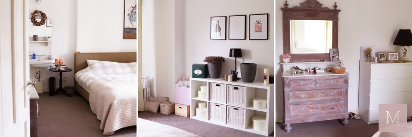 before kinderkamer meisjes make over bohemian vintage mamatothemax