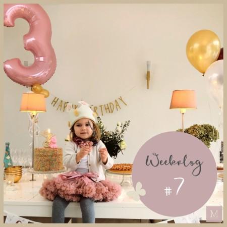weekvlog verjaardag lilou 3 jaar mamatothemax