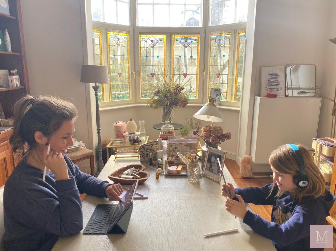thuis werken kinderen thuis squla ervaringen