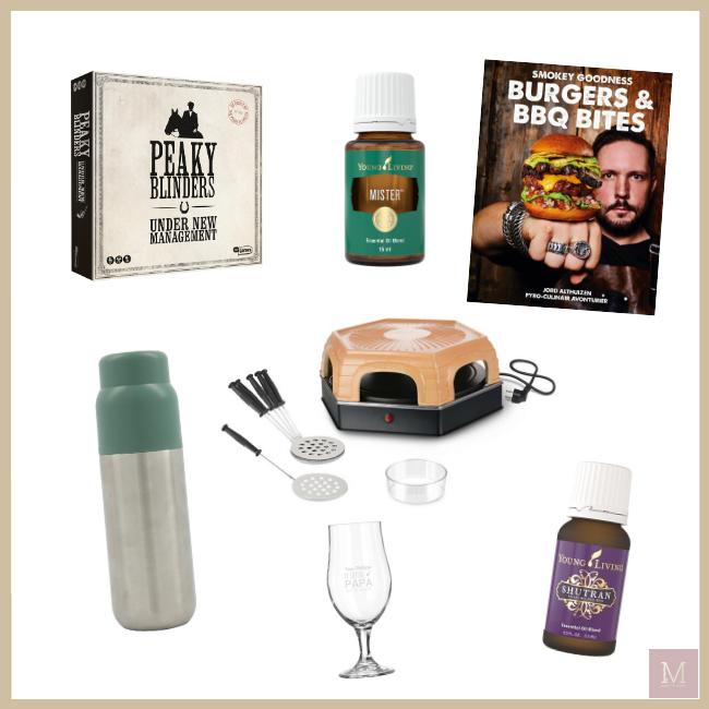 Vaderdag 2020, cadeautips, cadeau voor mannen, essentiële oliën, Blooming Blends, MAMA to the max, bordspellen, tips