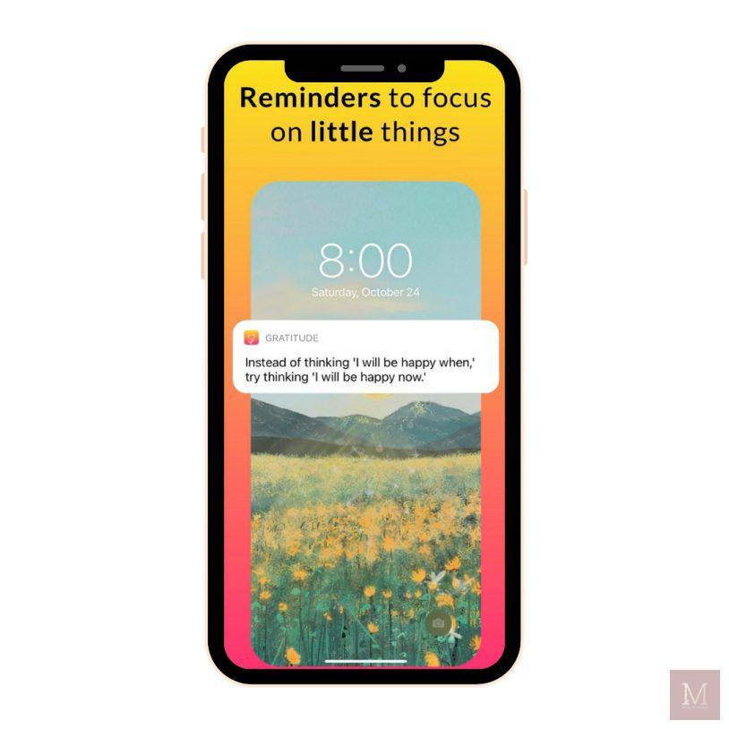 Gratitute Diary, Apps